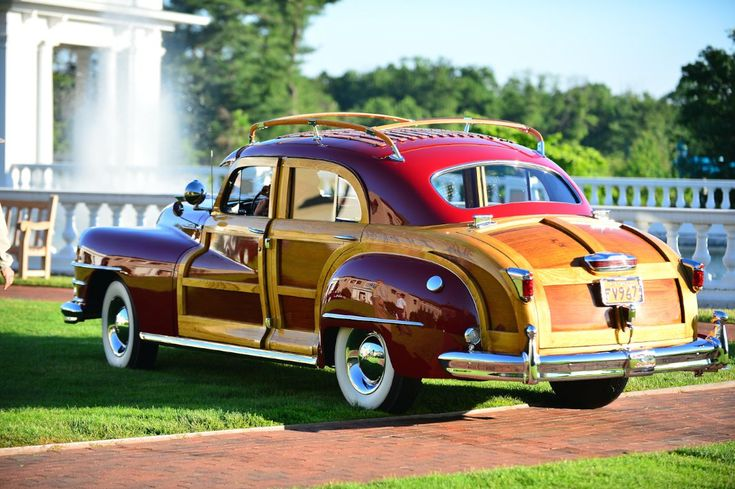 1947 chrysler town and country sedan classic cars