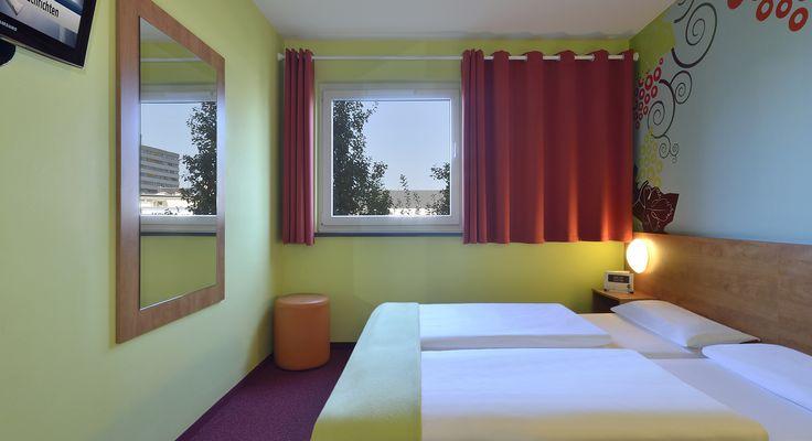 Zweibettzimmer im B&B Hotel Koblenz