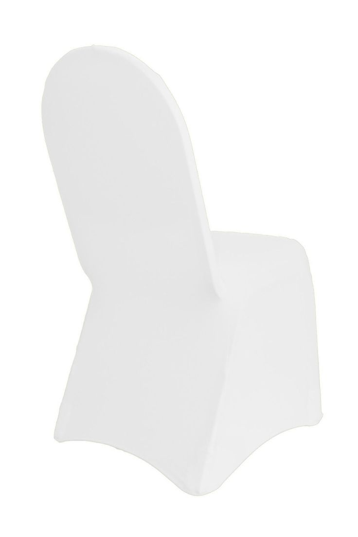 Your Chair Covers Inc. - Spandex Chair Covers White, $2.79 (http://www.yourchaircovers.com/spandex-chair-covers-white/)
