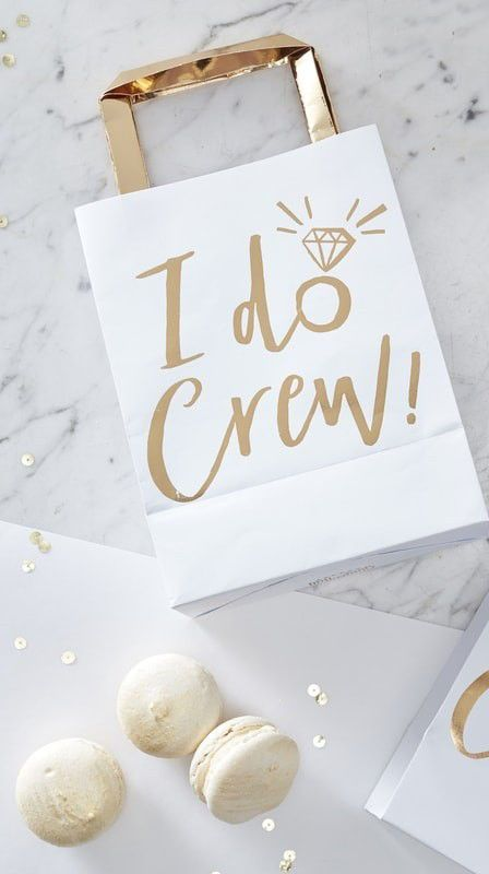 Set Of 5 I Do Crew Gift Bags Bachelorette Party Gifts In 2019