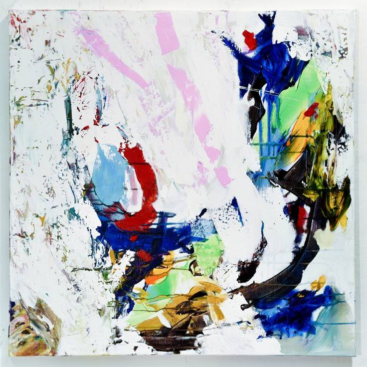 Buy UP248, an Acrylic Painting on Canvas, by Radek Smach from Czech Republic, For sale, Price is $1490, Size is 80 x 80 x 2 cm.