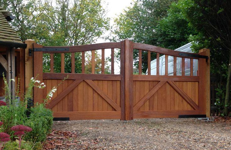 Wooden Electrified Gates