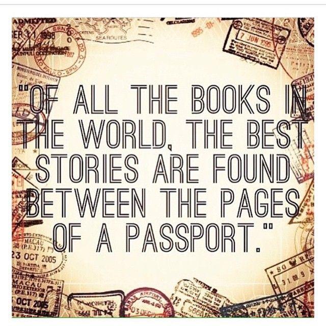 """""""Entre todos os livros do mundo, as melhores estórias se encontram entre as páginas de um passaporte"""" - já no ar o post retrospectiva do ano! http://drieverywhere.net/2015/01/02/bye-bye-2014-hello-2015/ Ah... Se meu passaporte falasse! ❤️✈️"""