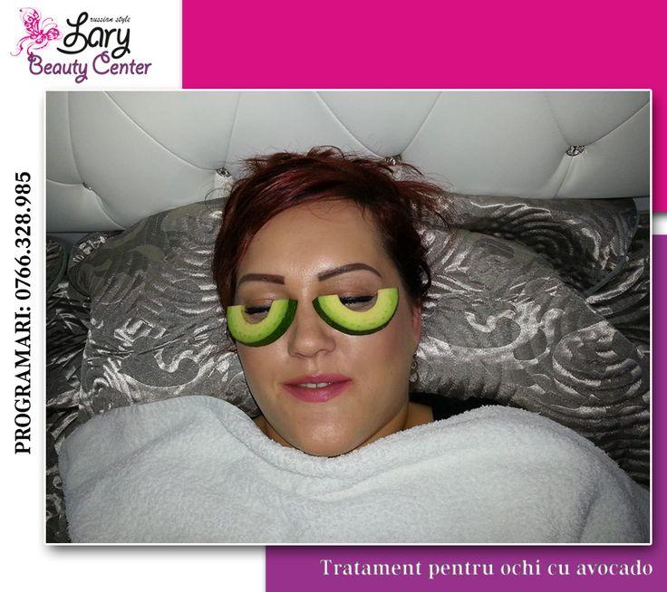 Avocado pentru ochi obositi  www.larybeautycenter.ro