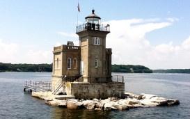 Huntington Harbor Lighthouse Long Island NY ~ Built 1912