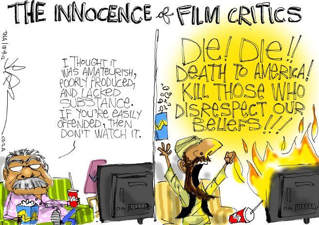 Jerm - Innocence Of Muslims anti-Islam film violence
