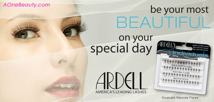 $4.49 Ardell Eyelashes - America's Leading Lashes http://www.aonebeauty.com/brands/Ardell/  #eyelashes #makeup #beauty #ardell