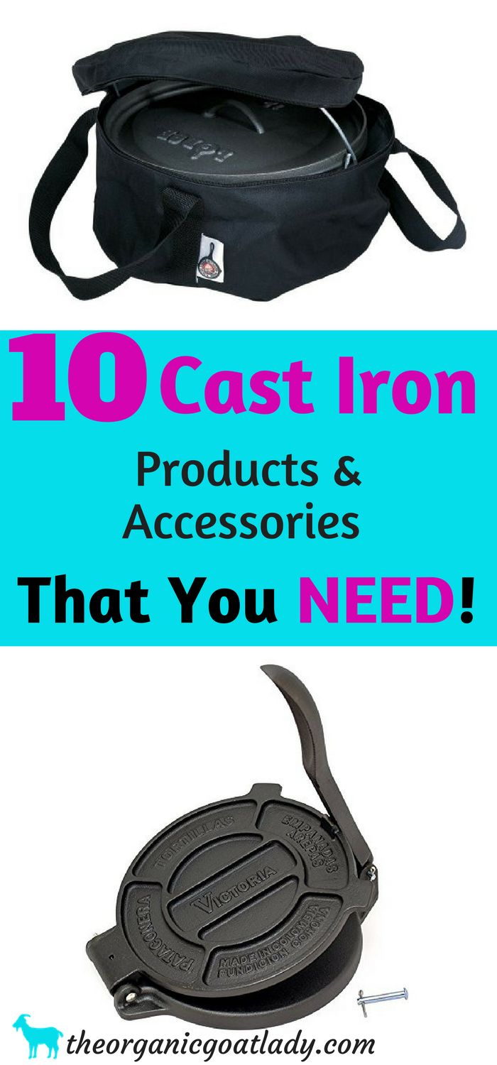 Gift Ideas, Cast Iron, Cast Iron Products and Accessories!