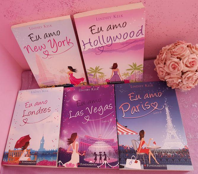 Eu li: Eu amo Londres – Lindsey Kelk   – Livros