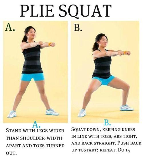 Plié squat