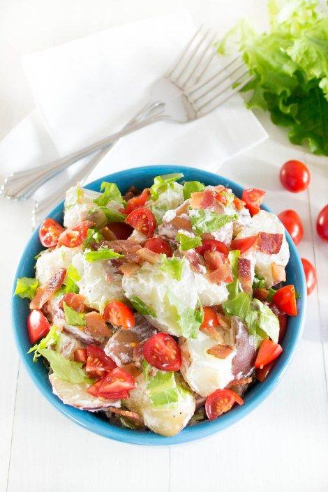 ... potatoes, crisp bacon, sweet tomatoes, and garden fresh lettuce