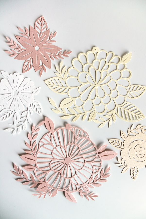 giochi di carta: Flowers Paper Cut