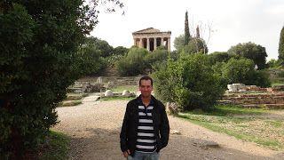 Ágora antiga, Atenas, Grécia... #atenas #acropole #grecia #viajarcorrendo #agora
