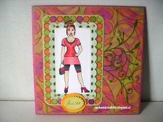 card for the sketch challenge on The Outlawz, image from guylou's inimitability.