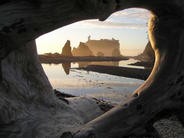 Ruby Beach, Washington State by JNLE, via Flickr