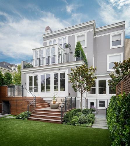 Crisp Traditional - traditional - exterior - san francisco - Sutro Architects