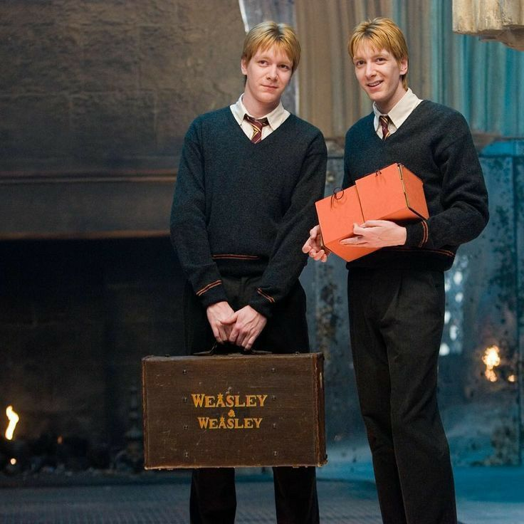 Fred And George Weasley Harry Potter Characters Fred And George Weasley Weasley Twins