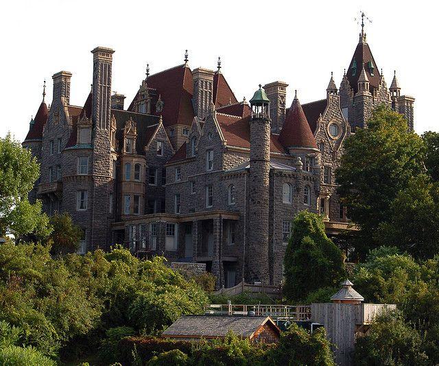 Boldt Castle in Alexandria Bay, New York