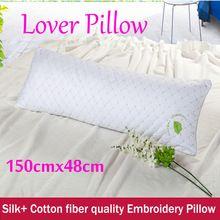 Home assento travesseiro algodão de seda macio pescoço saúde travesseiro cama têxteis lar massagem dormir travesseiro de enfermagem(China (Mainland))