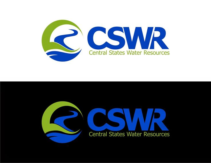 Vector Logo With Sale : Central States Water Resources