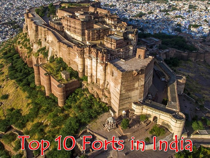 Top 10 Historical Famous and Beautiful Forts in India