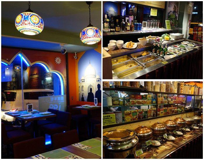 印度菜,印度料理吃到飽,印度餐廳,通化街,通化夜市,臨江街夜市