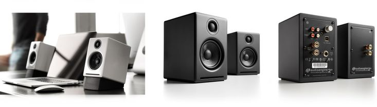 audioengine a2+ speakers and ds1 speaker stand