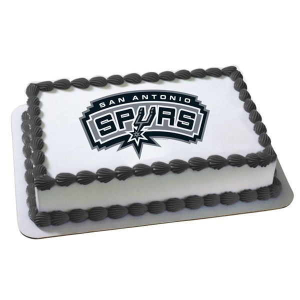 NBA San Antonio Spurs Edible Image Cake Decoration at Birthday Direct