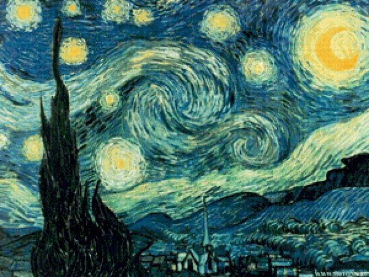 Ван Гог. Звездная ночь, предпросмотр
