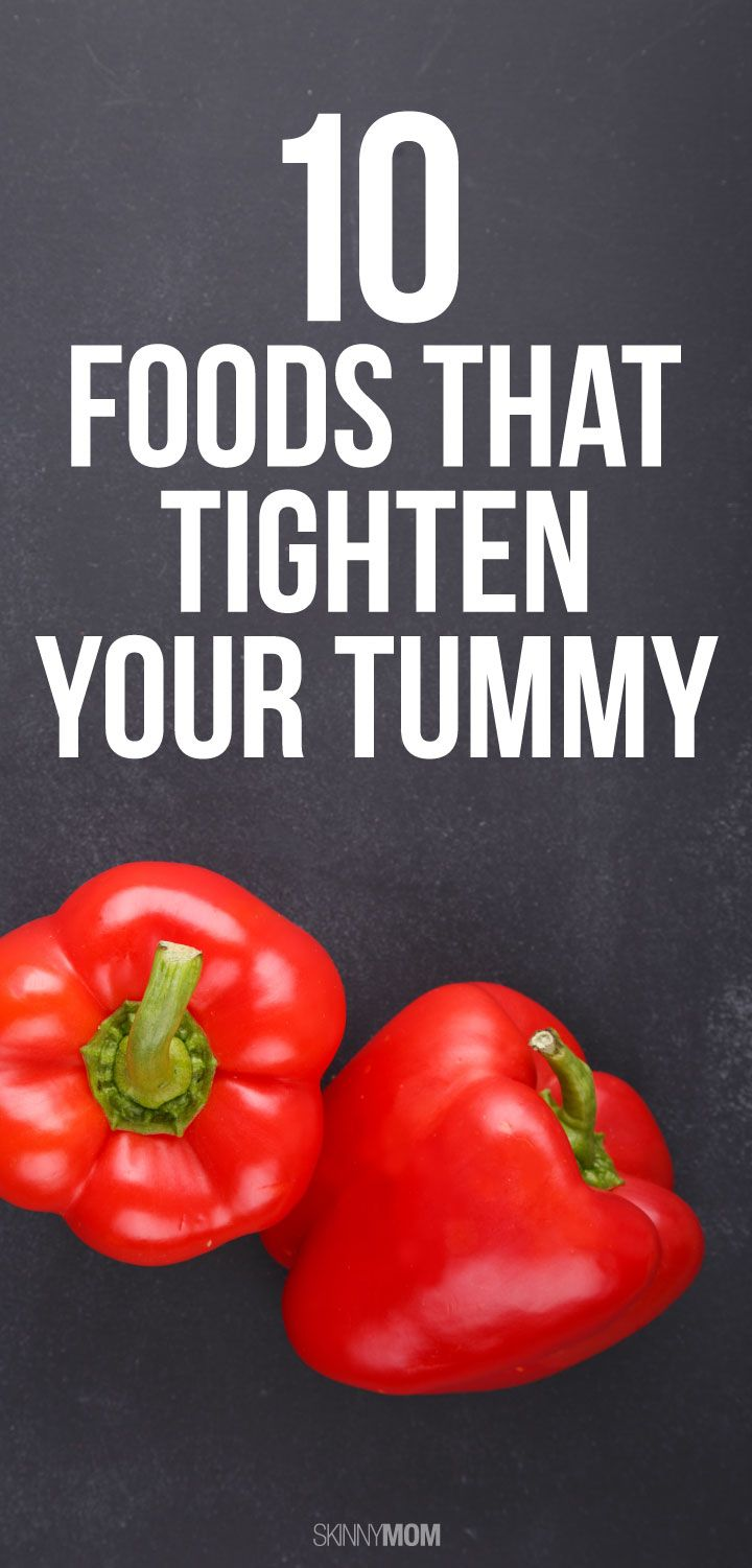 Tighten that tummy with these healthy foods!