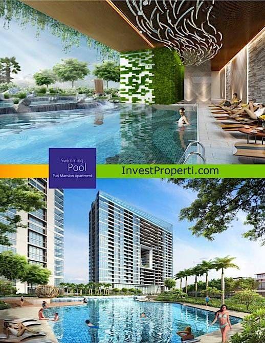 Swimming Pool @ Puri Mansion Apartment