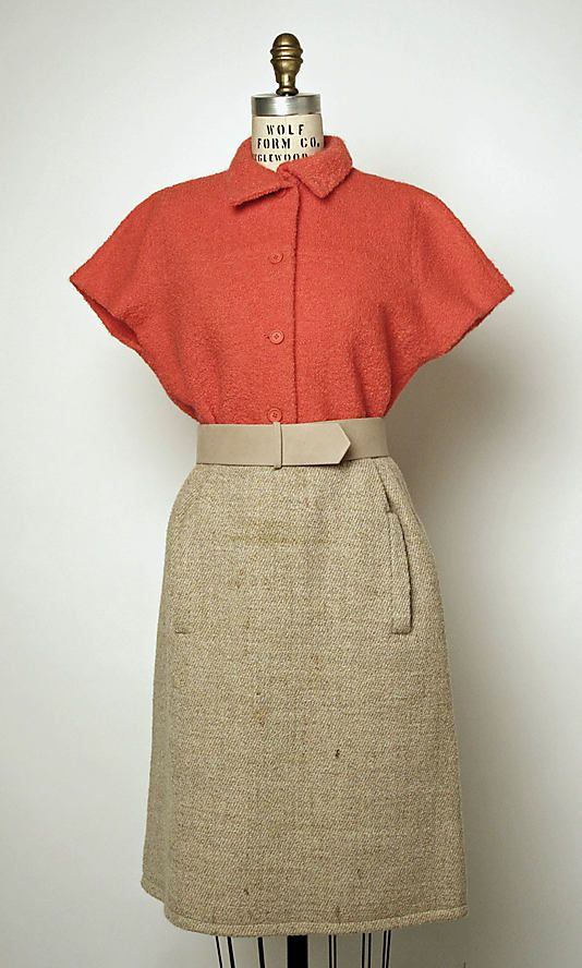 Ensemble | House of Balenciaga (French, founded 1937) | early 1960s | Culture: French