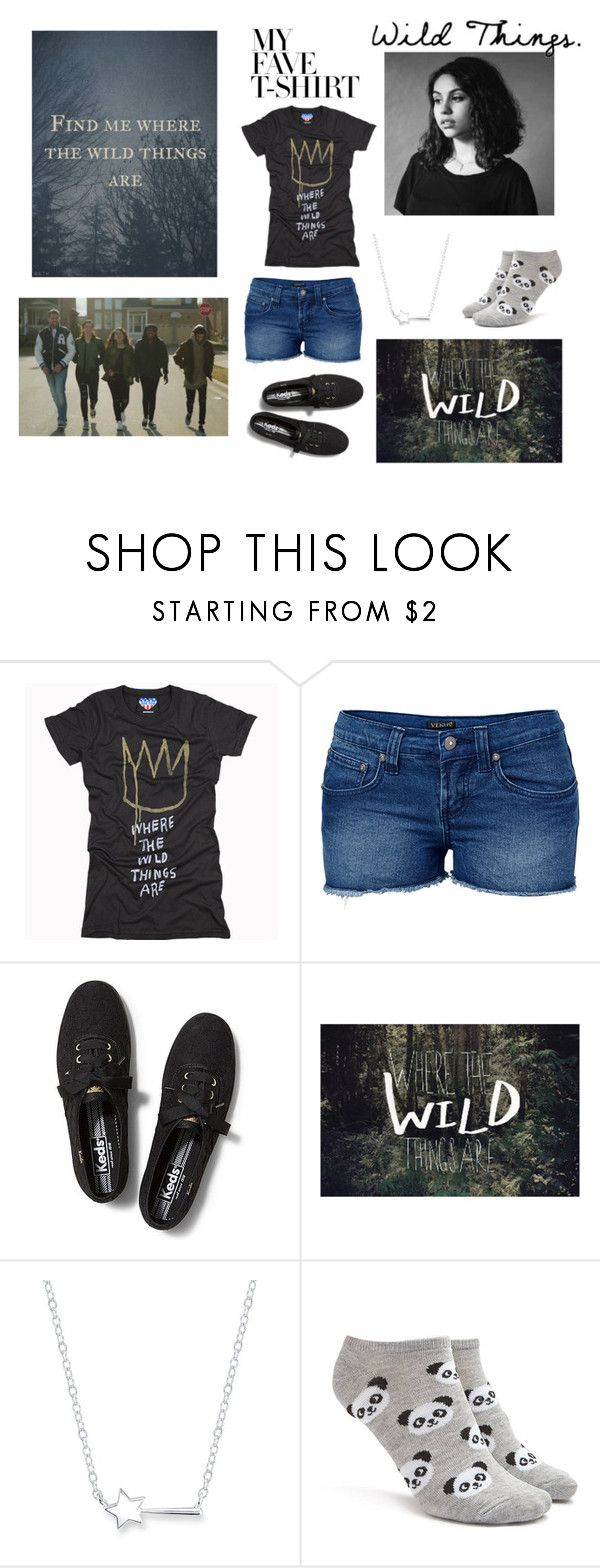 """Wild Things - Alessia Cara"" by ballerinahippie on Polyvore featuring Junk Food Clothing, Venus, Keds, Leah Flores, Belk Silverworks, Forever 21 and MyFaveTshirt"