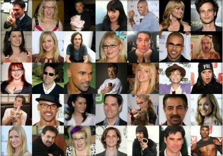 Funny pics of criminal minds cast Paget Brewster, Shemar Moore, a.J Cook, Matthew Gray Gubler, Joe Mantegna, Thomas Gibson, Kristen Vangsness