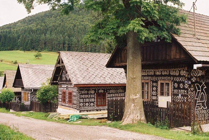 Čičmany - Slovakia