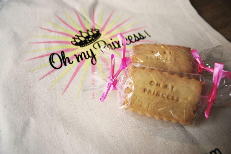Des petits biscuits oh my princess. Nos petits détails prévieux.