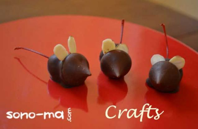 Chocolate Christmas Mice | Christmas Baking | Pinterest