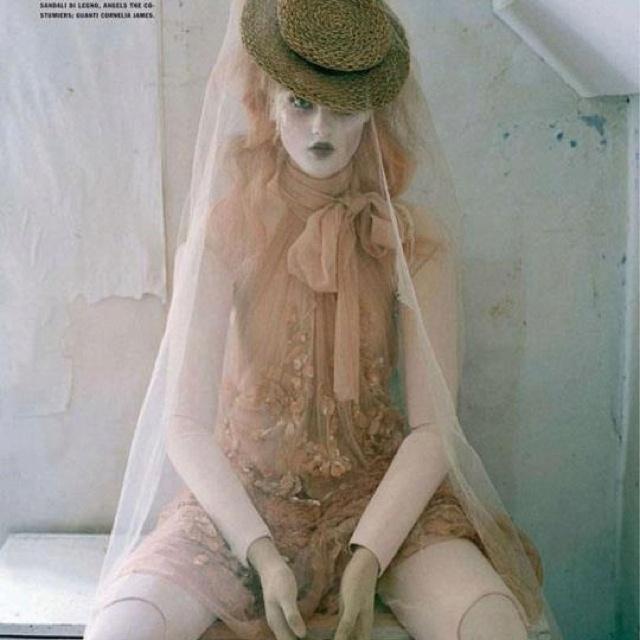 .: Italia October, Mechanical Dolls, Audrey Marnay, Italian Vogue, October 2011, Timwalker, Tim Walker, Sweet Pyrhönen, Fashion Photography