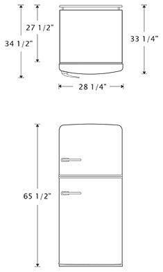 best 25 retro refrigerator ideas on pinterest vintage kitchen appliances retro stove and. Black Bedroom Furniture Sets. Home Design Ideas
