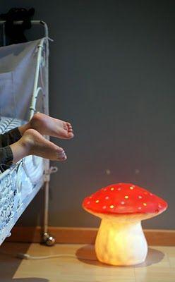 lampe champignon