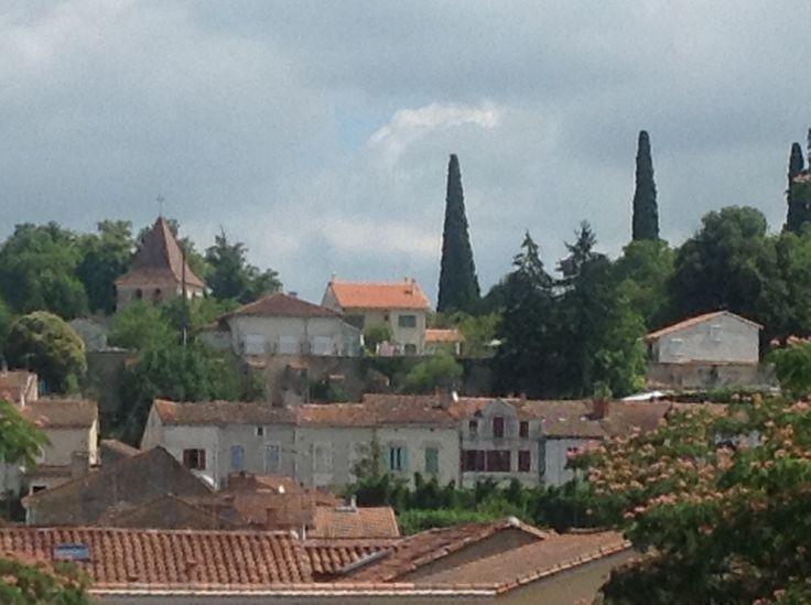 Rooftops in Riberac