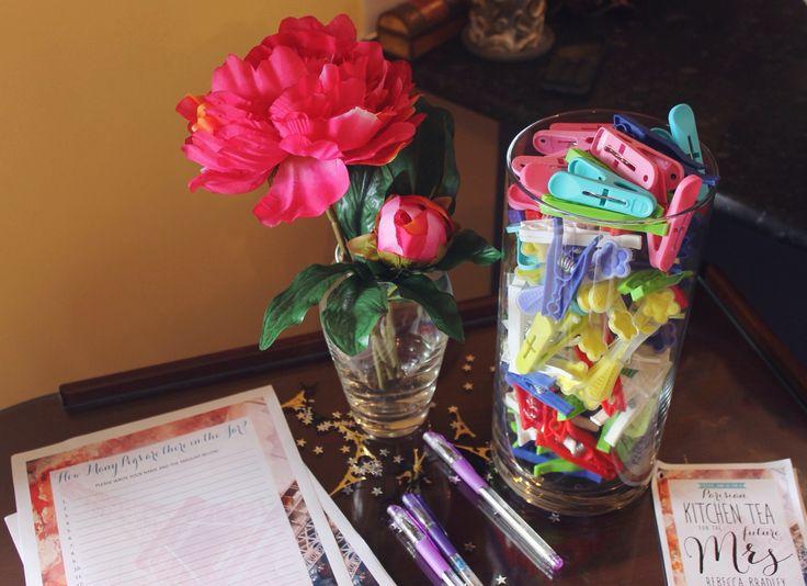 How many pegs in the jar?  Instagram: bexxxstevensonn