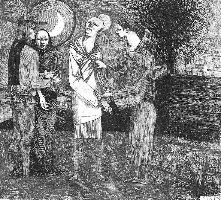 Kondor Béla - Jelenetek Dózsa György idejéből_8 / Dózsa-series (1956)