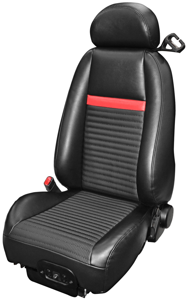 Buy this tmi mach 1 style upholstery for your 2003 or 2004 mustang from cj pony parts this upholstery will direct fit into place within your interior and