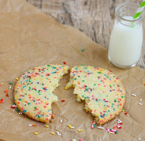 Single Serving Birthday Cake Cookie