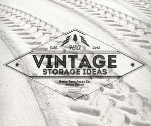 Vintage Storage Ideas