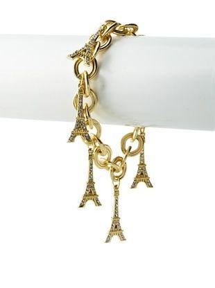 55% OFF Karine Sultan Eiffel Tower Charms Bracelet