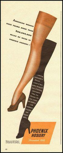 Pantyhose group ads