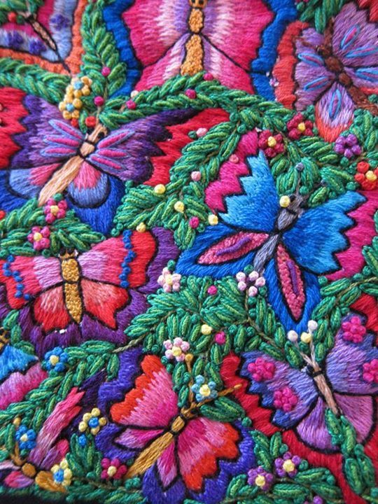 Cotton mexican embroidery thread.https://www.facebook.com/PuchkaPeruTextileTours?fref=photoELENA NUNEZ and ANABEL SANABRIA