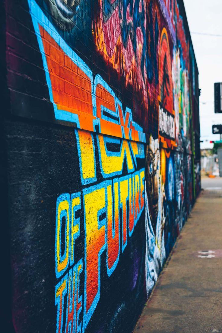 Graffiti wall dallas - Deep Ellum Dallas Wall Mural Craig Mackay Photography